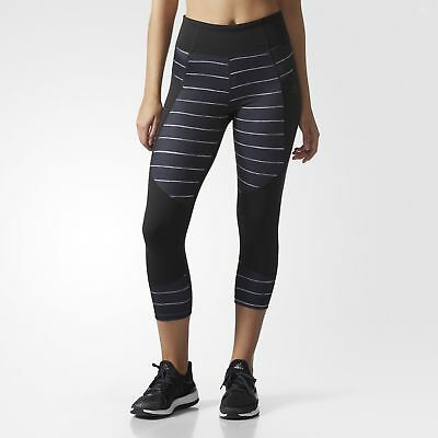 adidas Performer High-Rise Graphic 3/4 Tights Women's Black