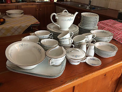 "Vintage Noritake RC  ""Romaine"" #620. 64 piece Dinner Service Pick up Euroa 3666"