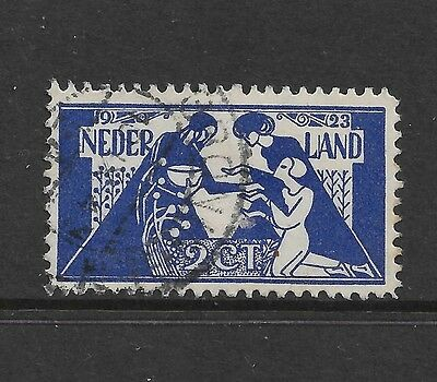 NETHERLANDS - 1923 Culture Fund, Charity, 2c, used