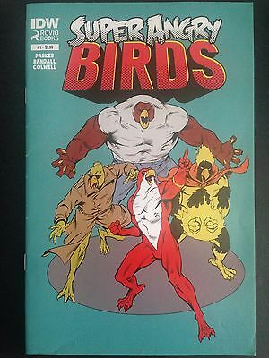 Super Angry Birds #1 (2015) VF