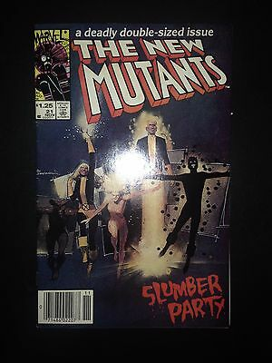 The New Mutants #21 (1984) VF Warlock Origin