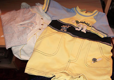 BABY BOY'S CLOTHING BUNDLE (4) - French - 1 month