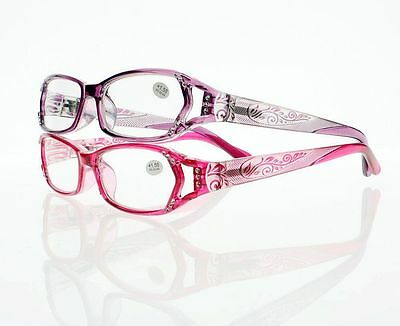 Women Rhinestone Reading Glasses +1.00 +1.25 +1.50 +1.75 +2.0 +3.0 +4.0 New