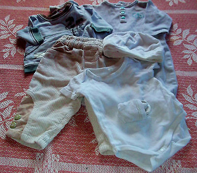 BABY BOY'S CLOTHING BUNDLE (A) - French - 3 months