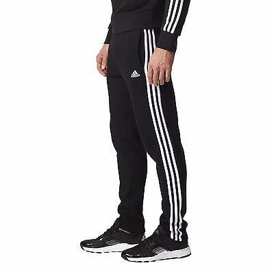 ADIDAS Men's Essentials 3 Stripe Tapered Tracks Tracksuit Pants - Size S to 2XL