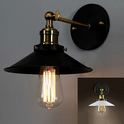 American Vintage Indoor Wall Light Sconce Shade Aisle Lamp Fixture Bedside Lamps