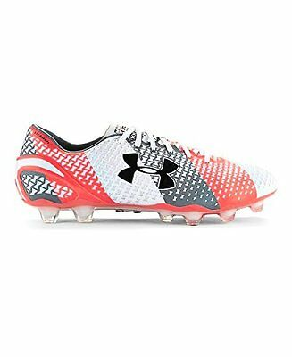 10fba48f1e2 Under Armour Mens UA ClutchFit Force FG Soccer Cleats White- Pick SZ Color.