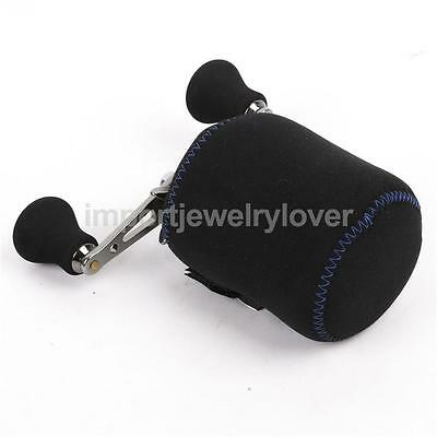 Black Protective Case Cover Container Pouch Spinning Wheel Fishing Reel Bag