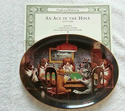 An Ace in the Hole collectors plate