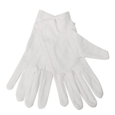 Mens Waiting Gloves White L Waitress Service Mittens Bar Restaurants Catering
