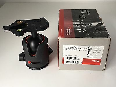 Manfrotto MH055M0-RC4 Ball Tripod Quick Release Head Made In Italy