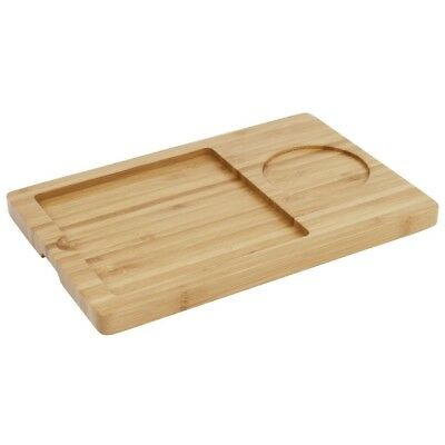 Olympia Wooden Base for Slate Platter 240 x 160mm Food Serving Tray Tableware