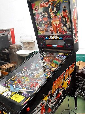 VINTAGE  antigua pinball petaco flipper BIKE RACE no es antique  Twilight Zone
