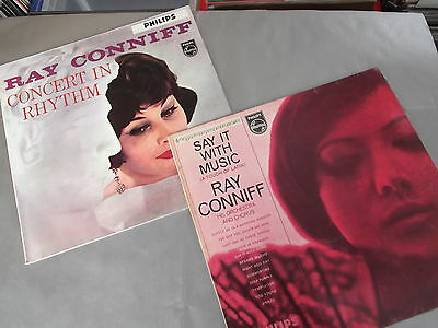 RAY CONNIFF - LOTTO nr.2 LP VINILE/VINYL SAY IT WITH MUSIC / CONCERT IN RHYTHM