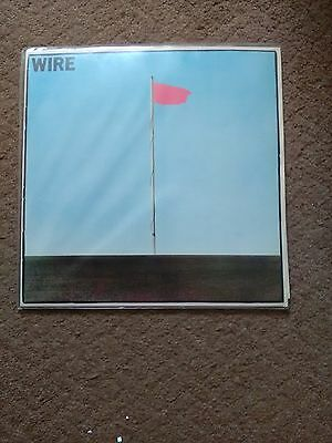 "Wire - Pink Flag 1977 Original UK  EMI Harvest SHSP 4076 12"" Vinyl LP"