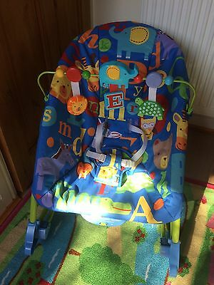 Fisher Price Infant To Toddler Rocker Baby Seat Bouncer