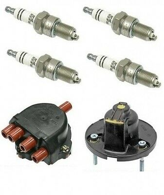 For Porsche 944s 968 Ignition Kit Plugs Rotor Cap Bosch New
