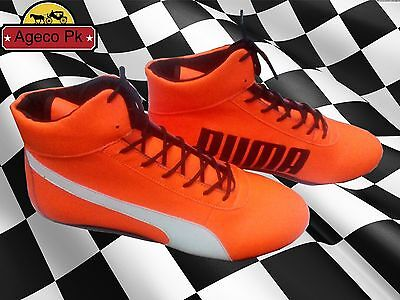 PUMA Go-Kart / Karting/Race Boots /shoes Racing boots with free Gift Balaclava