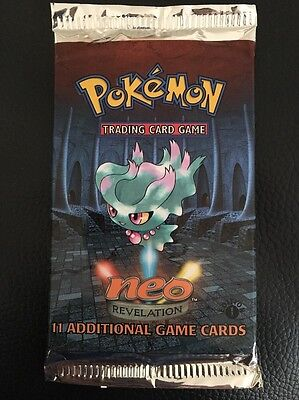 Pokemon Neo Revelation 1st Edition Booster Pack Brand New Sealed Misdreavus