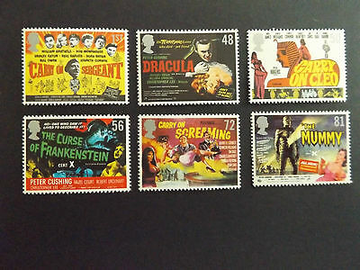 GB QEII MNH STAMP SET 2008 Carry On/Hammer Horror SG 2849-2854 10% OFF ANY 5+
