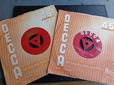 "WHILHELM KEMPFF  2 x 45rpm 7""records"