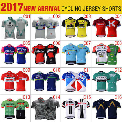 2017 New Style Summer Mens Cycling Jersey Short Sleeve Cycling Clothing Outdoor