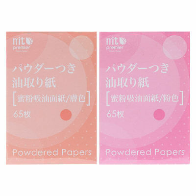 DAISO JAPAN POWDERED PAPERS 65 sheet (PINK/BEIGE)