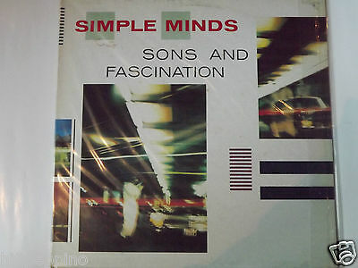 "Simple Minds ""sons And Fascination"" Rare Vinile  Lp Italy 1981"