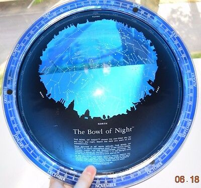 Rare The Bowl Of Night Transparent Globe Farquhar 1982 Vintage Astronomy