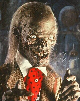 John Kassir ACTOR TAYLES FROM THE CRYPT autograph, In-Person signed photo