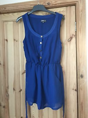 Ladies Electric Blue Play suit By Apricot Size Medium