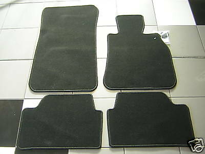 BMW E46 3 Series high quality black carpet floor mats, saloon and  touring
