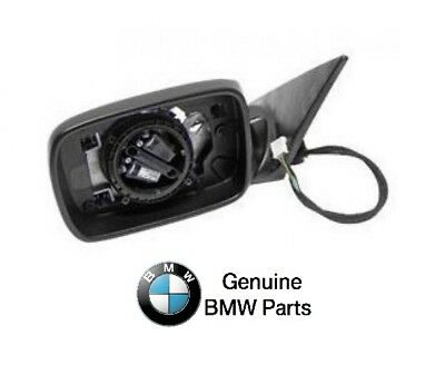 NEW BMW E46 323i 325i 330i Driver Left Door MirrorWithoutGlassGenuine51168247117