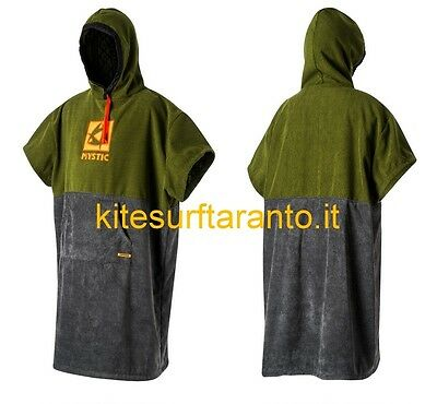 Mystic Poncho 2017 army accapatoio