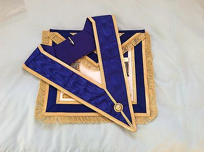 Masonic Regalia - Craft Provincial Apron & Collar - FREE POSTAGE