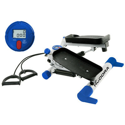 HUDORA Swing Stepper mit Expander Fitness Heimstepper Training Fitnessstepper