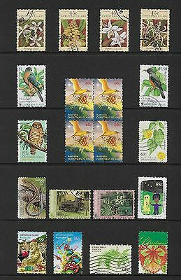 CHRISTMAS ISLAND - mixed collection No.9, used
