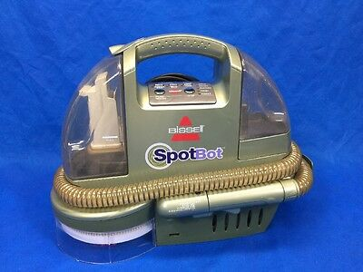 Bissell Spotbot Carpet Fabric Upholstery Pet Stain Cleaner Suction Shampoo 1200