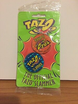 Tazo Slammers X2 1996 - New In Packet - 90's Gold