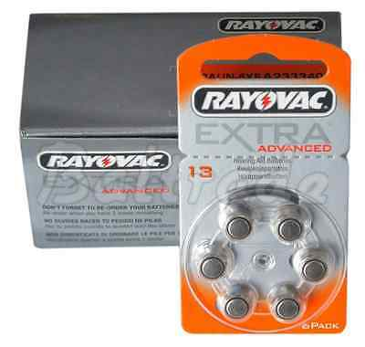 Rayovac Extra 13 PR48 Orange Hearing Aid Batteries; AMOUNT OF YOUR CHOICE;