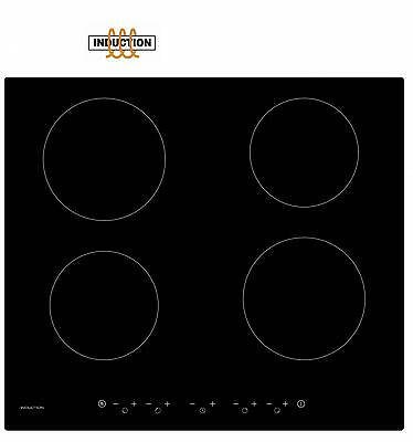 GRADED Cookology 60cm Induction Hob CIT600 | Black Ceramic, Touch Controls
