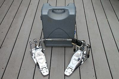 Limited Edition Chrome Tama Iron Cobra Flexi Glide Double Bass Drum Pedal