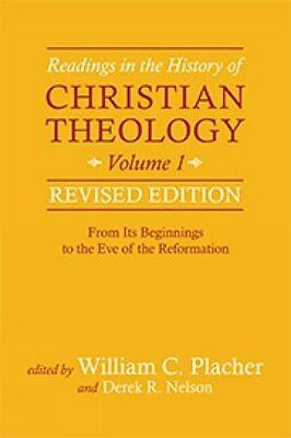 Readings in the History of Christian Theology, Vol,PB, - NEW