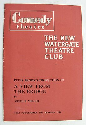 A VIEW FROM THE BRIDGE 1956 Anthony Quayle Mary Ure Richard Harris Michael Gwynn