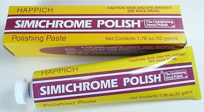 SIMICHROME POLISH 50gm  BAKELITE TESTER