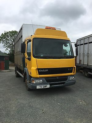 DAF Horse/cattle Lorry 7.5t