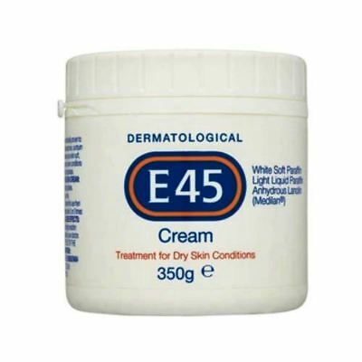 E45 Dermatological Cream Treatment for Dry Skin Conditions - 350 g
