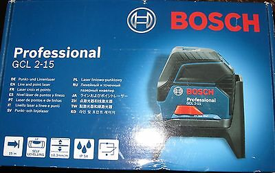 Bosch Professional Line And Point Laser GCL 2-15