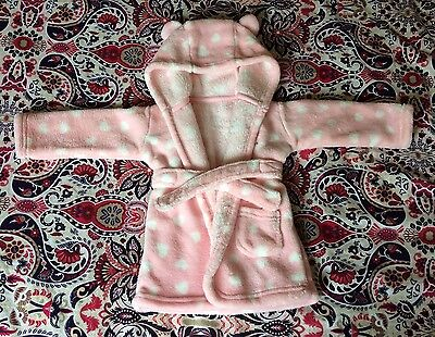 George Girls 3-6 Month Dressing Gown