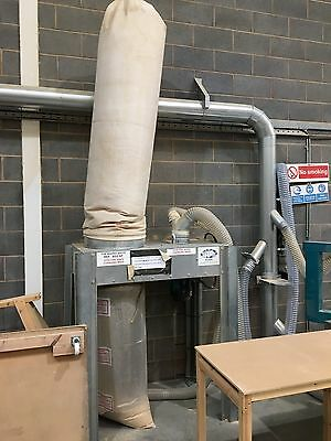 Airplants D800L 3kw 3phase Dust Extractor 1997